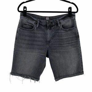 BDG UO Mens Slim Fit Cut Off Bermuda Shorts